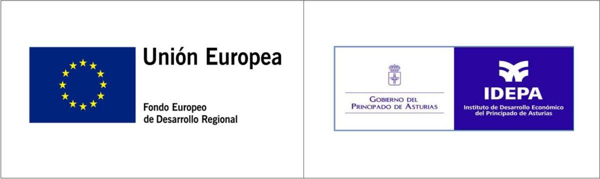 Logos IDEPA y UE